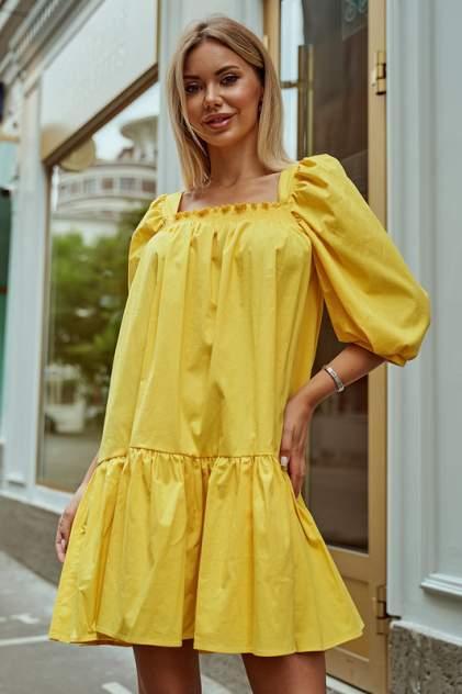 Женское платье AVEMOD AV 977, желтый
