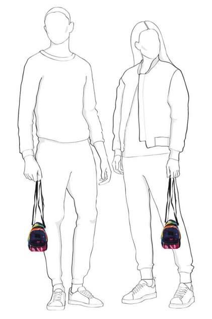 Поясная сумка женская HERSCHEL 10727-03561 разноцветная