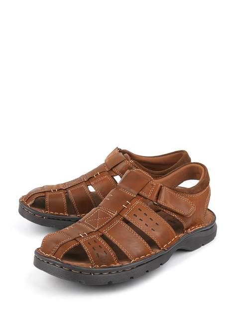 Сандалии мужские BERTEN 918243-8 коричневые 40 RU