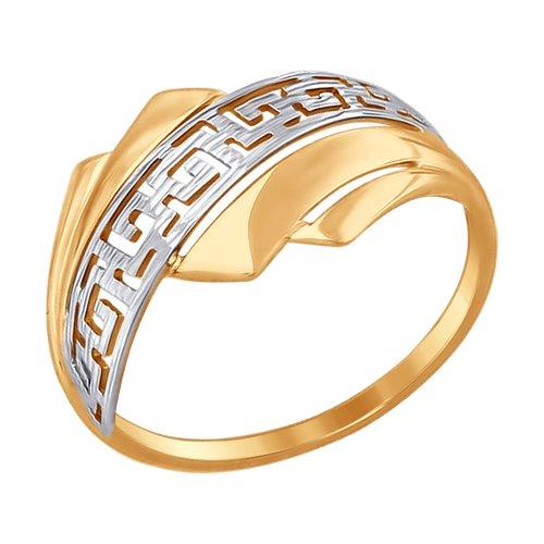 Кольцо женское SOKOLOV из золота 017485 р.17