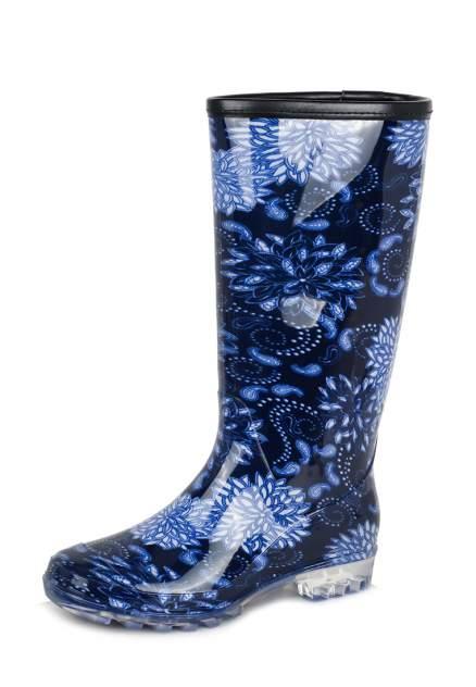 Резиновые сапоги женские T.Taccardi BL20AW-92 синие 38 RU