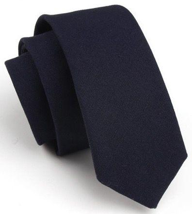 Галстук мужской 2beMan G103 темно-синий