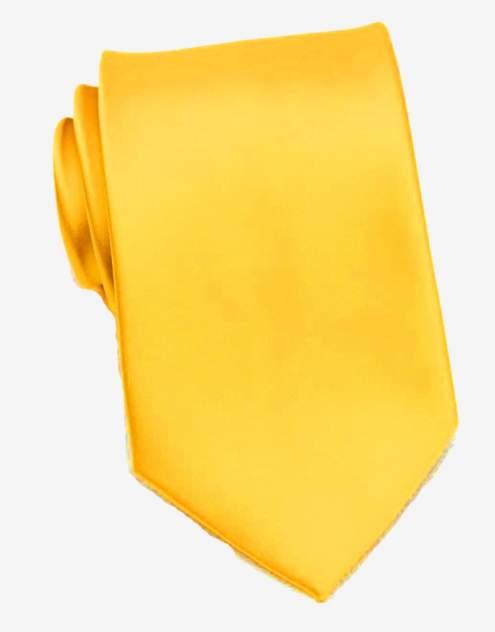 Галстук мужской 2beMan G321 ярко-желтый