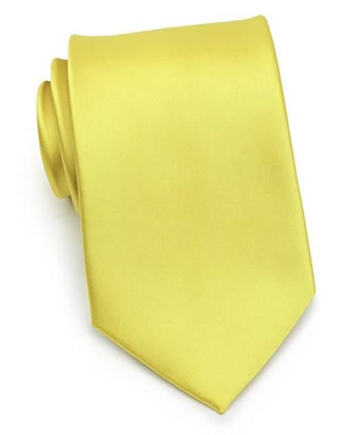 Галстук мужской 2beMan G261 желтый