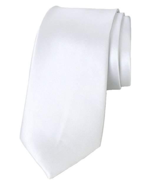 Галстук мужской 2beMan G258 белый