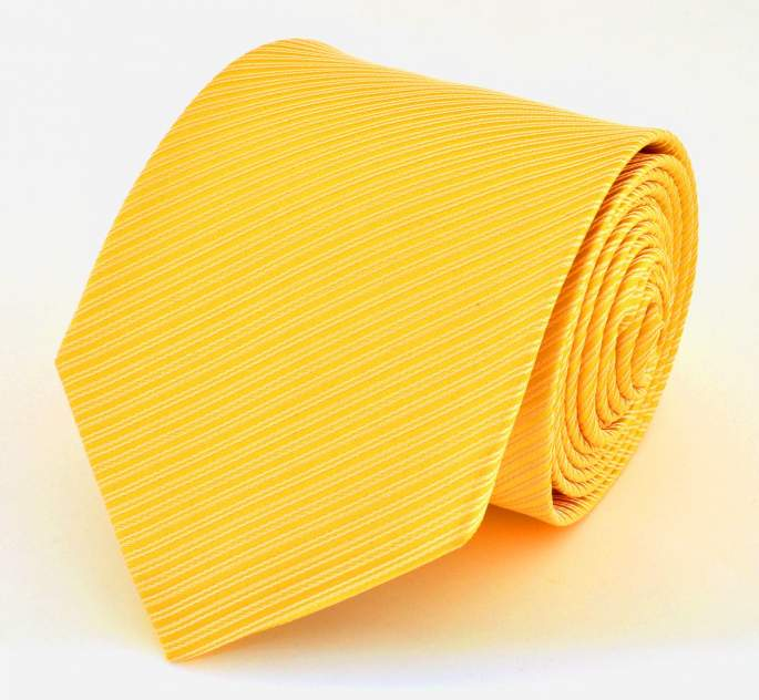 Галстук мужской 2beMan G244 желтый