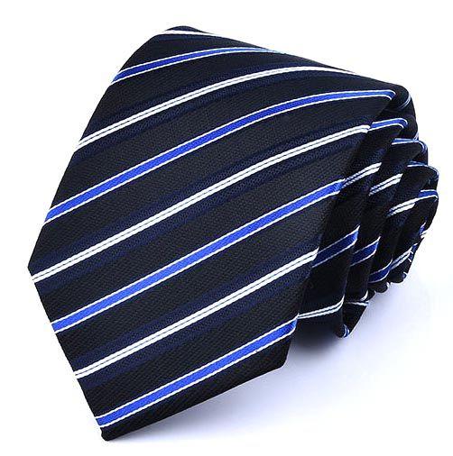 Галстук мужской 2beMan G195 темно-синий