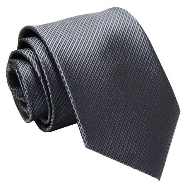Галстук мужской 2beMan G140 темно-серый