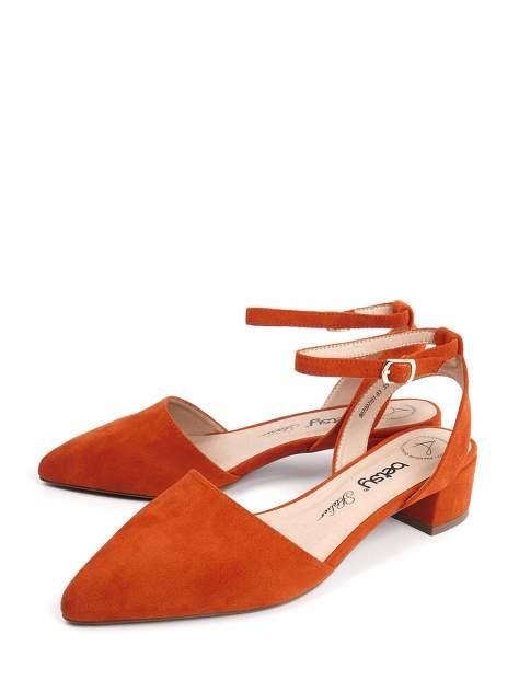 Босоножки женские Betsy 907007-01 оранжевые 36 RU
