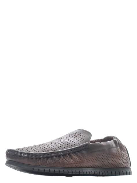 Мокасины мужские Longfield 902-120-C2L коричневые 40 RU