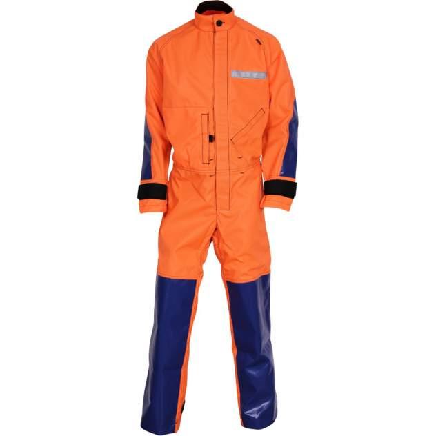 Спелеокомбинезон - Cordura® 500 оранжево-синий 52-54/182-188