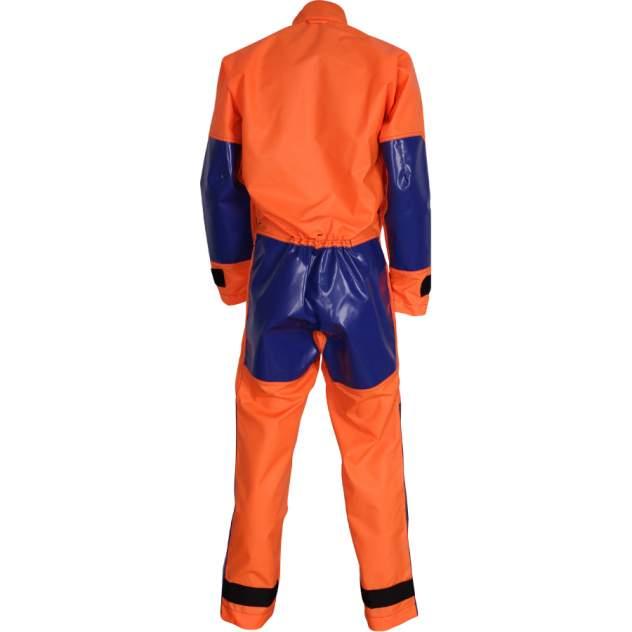 Спелеокомбинезон - Cordura® 500 оранжево-синий 44-46/176-182