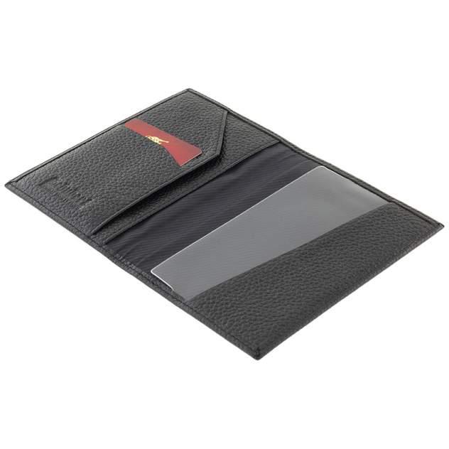 Обложка для паспорта мужская Schubert o010-403 черная