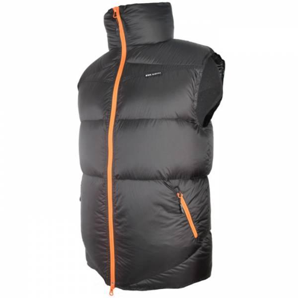 Жилет BVN Альпинист, р-р 48/188, цв. черный с оранжевыми молниями