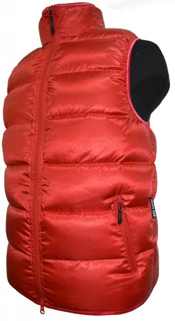 Женский утепленный жилет BVN Алтай FS-2, красный