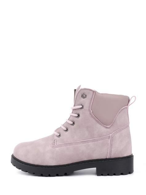 Ботинки женские Crosby 498138-01 розовые 36 RU