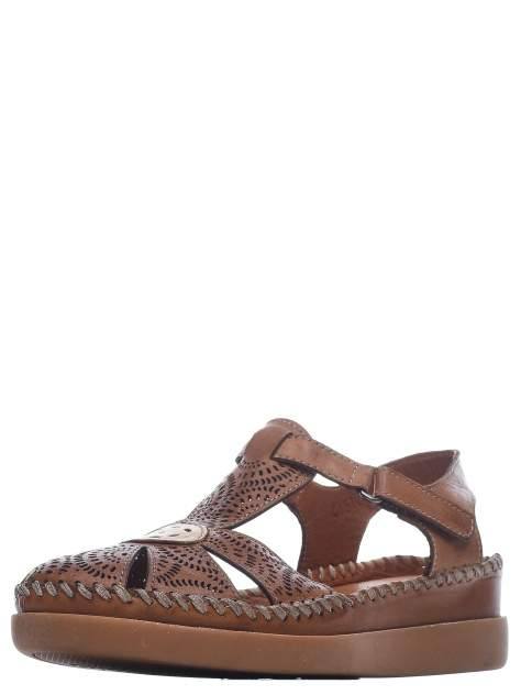 Сандалии женские Longfield 415120-16 коричневые 39 RU