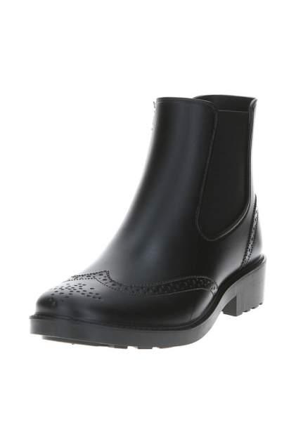 Женские резиновые резиновые ботинки MonAmi RNC-037, черный