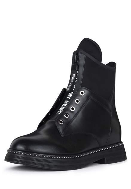Ботинки женские Pierre Cardin JX20W-299 черные 37 RU