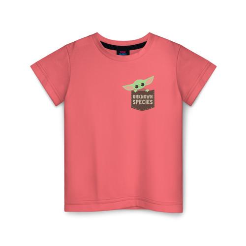 Детская футболка ВсеМайки Child Yoda, размер 86