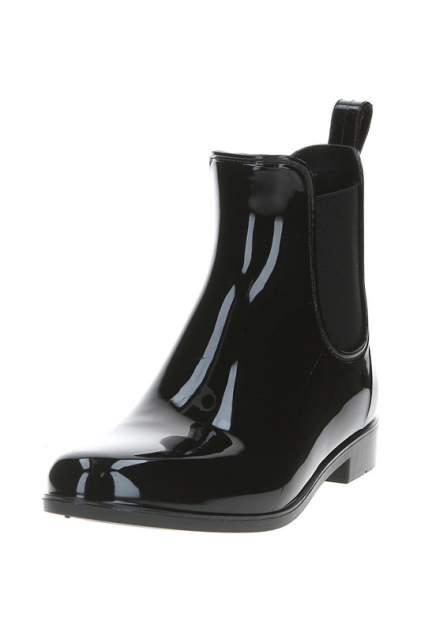 Женские резиновые резиновые ботинки MonAmi MA-JT004, черный