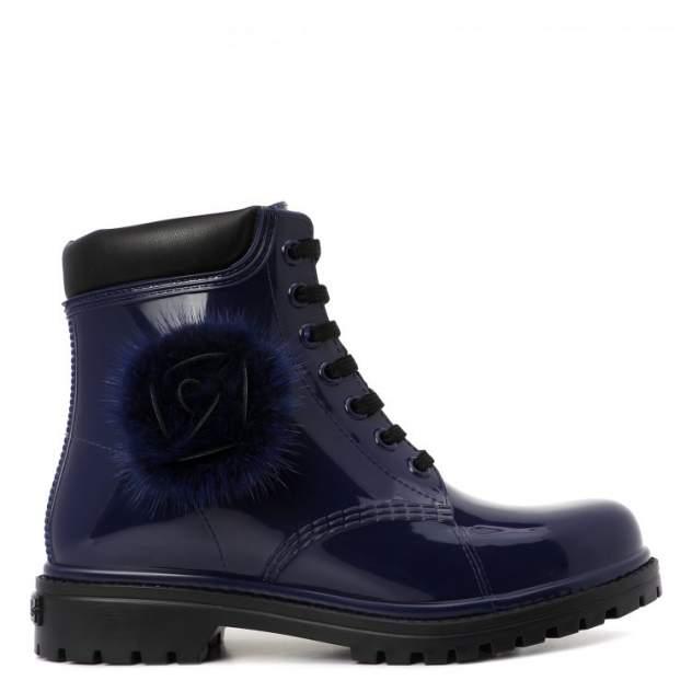 Резиновые ботинки женские Chiara Bellini 552.7588 темно-синие 38 EU