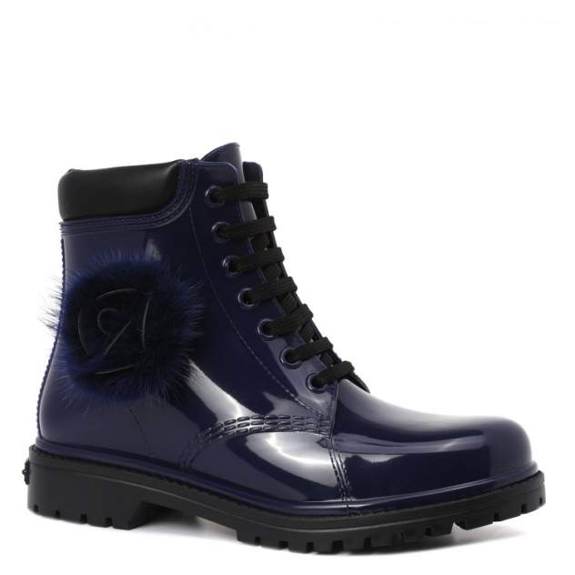 Женские резиновые резиновые ботинки Chiara Bellini 552.7588, синий