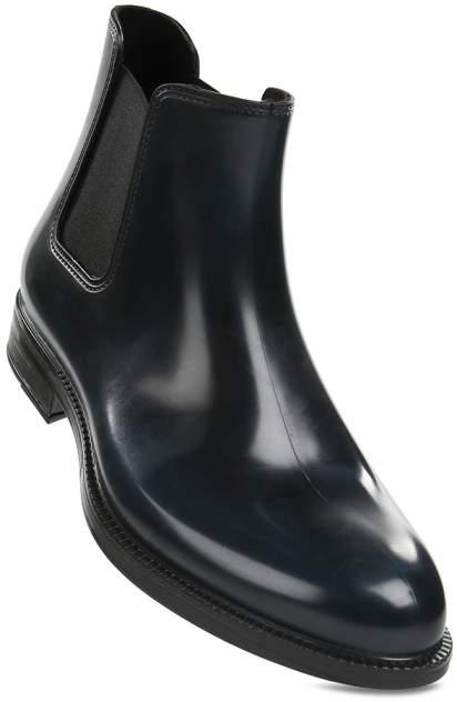 Ботинки мужские Chiara Bellini 289.4357 черно-синие 41 EU