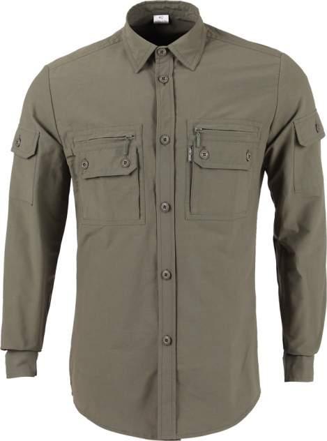"""Рубашка """"Сталкер"""" дл. рукав б/п olive 41/170-176"""