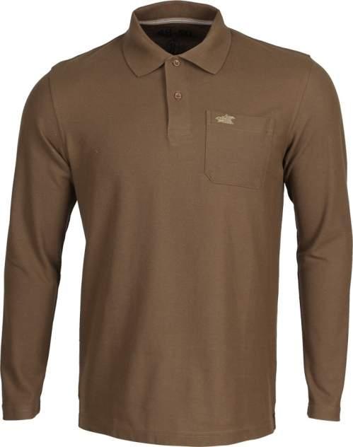 Рубашка Поло д/рукав brown 44-46