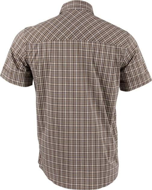 Рубашка мужская Sunburn клетка коричневая 40/182-188