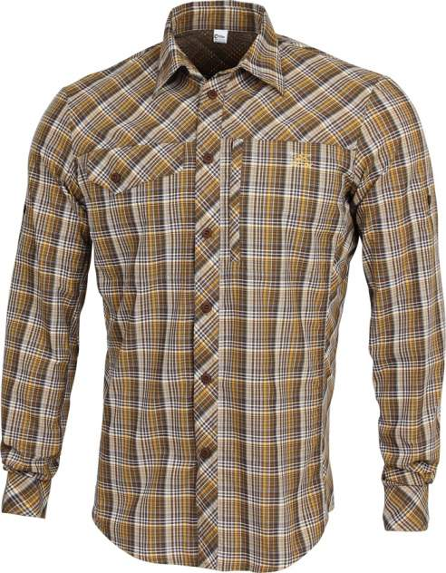 Рубашка Grid длинный рукав chocolate jazzy  43/170-176