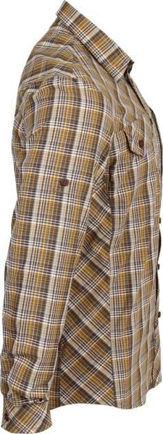 Рубашка Grid длинный рукав chocolate jazzy  38/170-176
