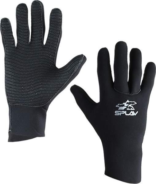 Мужские перчатки Сплав Wave, черный