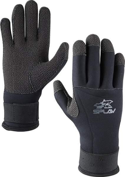 Мужские перчатки Сплав Walrus, черный
