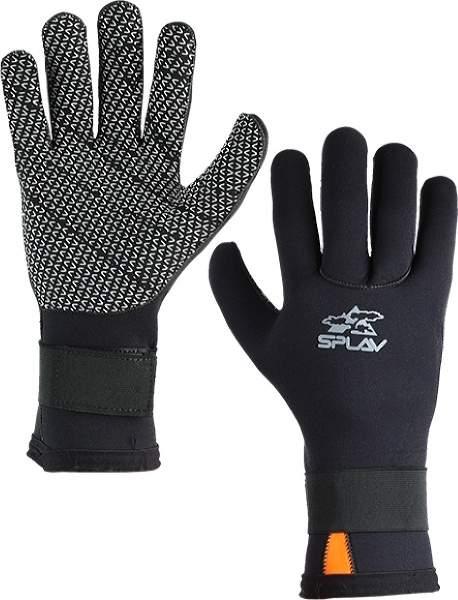 Мужские перчатки Сплав Surf, белый, черный