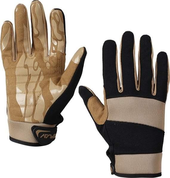 Мужские перчатки Сплав Road, бежевый, черный