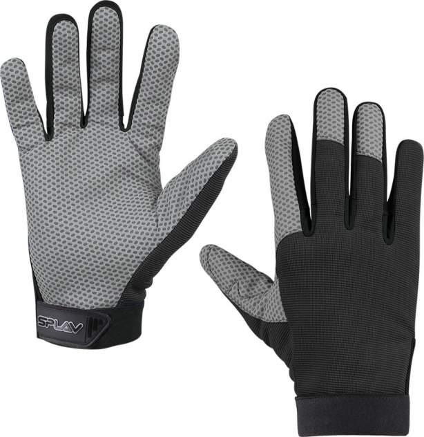 Мужские перчатки Сплав Grip, серый, черный