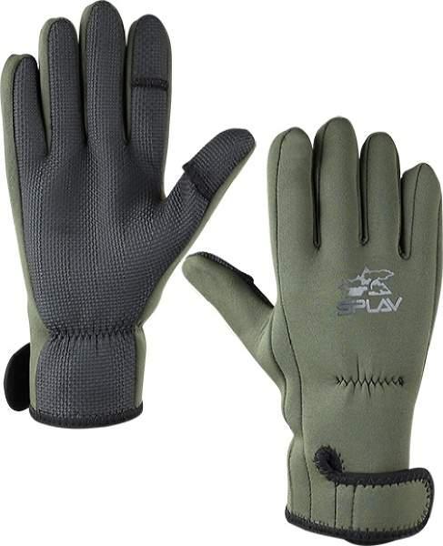 Мужские перчатки Сплав Float, зеленый, серый