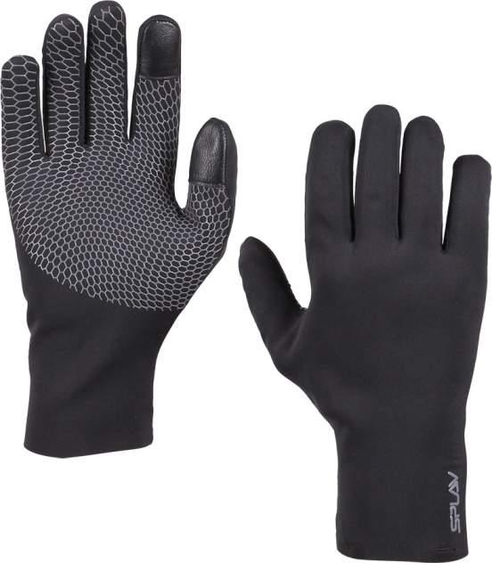 Мужские перчатки Сплав Fjord, серый, черный
