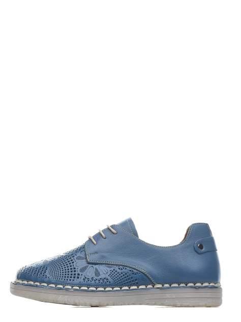 Полуботинки женские Longfield 215120-14 синие 37 RU