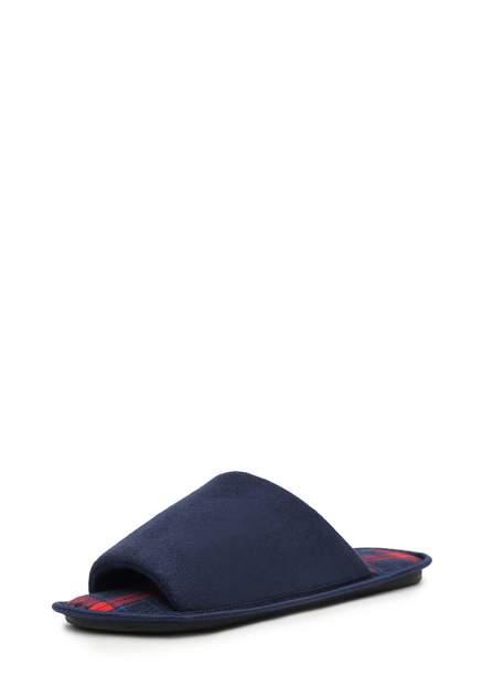 Домашние тапочки мужские T.Taccardi ZX20AW-40B синие 40 RU