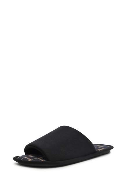 Домашние тапочки мужские T.Taccardi ZX20AW-40A черные 40 RU