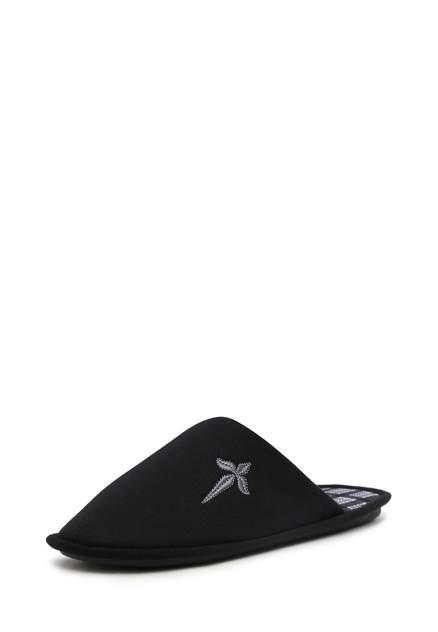 Домашние тапочки мужские T.Taccardi ZX20AW-19 черные 40 RU