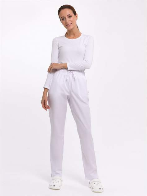 Брюки медицинские женские Med Fashion Lab 03-715-06-023 белые 42