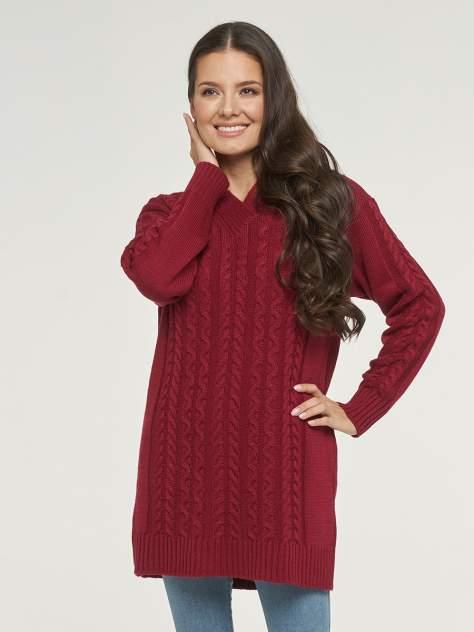 Пуловер женский VAY 192-4064 красный 48