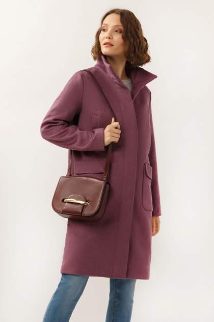 Пальто женское Finn Flare A19-32008 фиолетовое XL