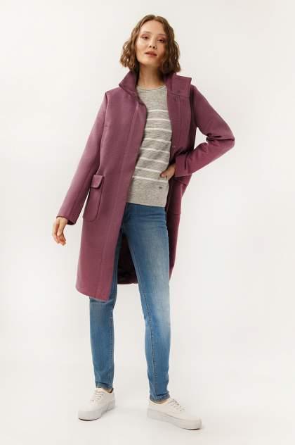 Пальто женское Finn Flare A19-32008 фиолетовое L