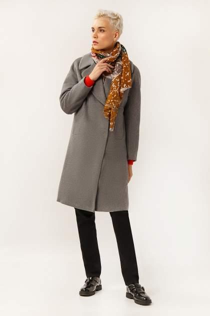 Пальто женское Finn Flare A19-12000 серое L