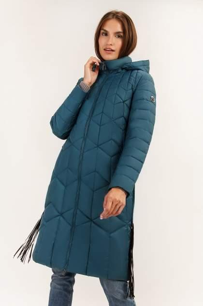 Пуховик женский Finn Flare A19-32057 синий S